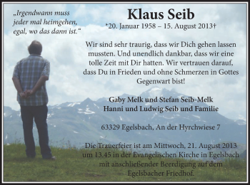 Profilbild von Klaus Seib