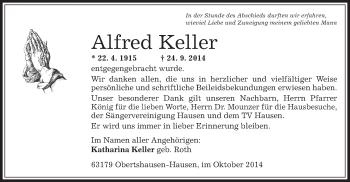 Zur Gedenkseite von Alfred