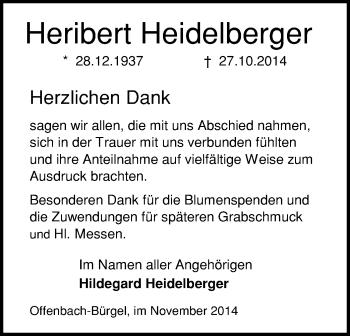 Zur Gedenkseite von Heribert