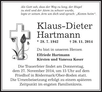 Zur Gedenkseite von Klaus-Dieter