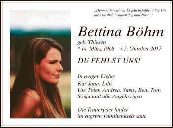 Profilbild von Bettina Böhm
