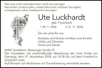 Ute Luckhardt