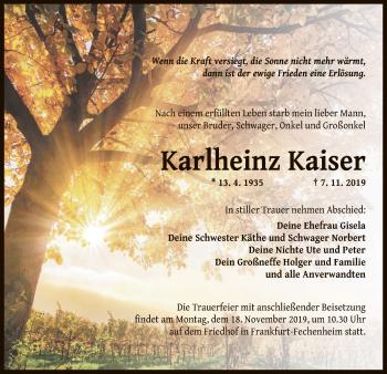 Karlheinz Kaiser