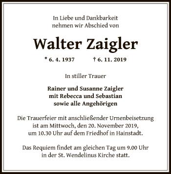 Walter Zaigler