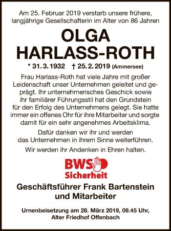 Olga Harlass-Roth