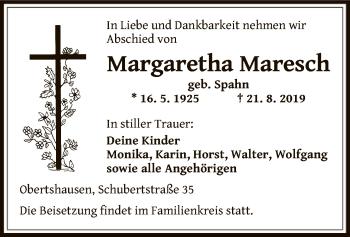 Margaretha Maresch